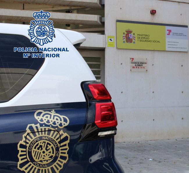 4 detenidos y 56 investigados por fraude a la Seguridad Social en Almería