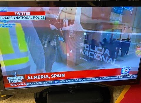Almería en las televisiones de EEUU por la detención del terrorista de DAESH