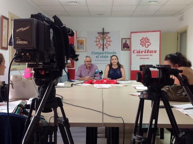 Cáritas tiene 670 voluntarios en Almería
