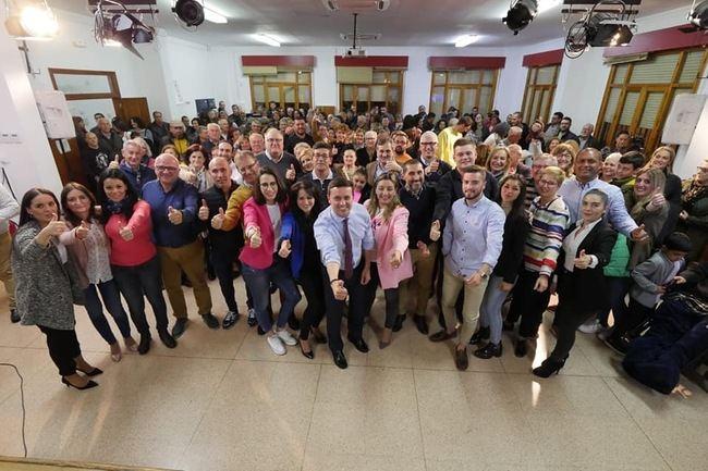 El PP presenta la candidatura que gobernará Viator el próximo 27 de mayo