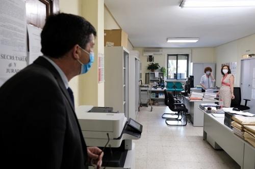La Junta invierte 650.000 euros para reactivar la Justicia en Almería