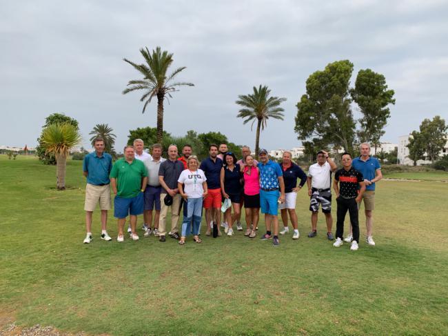 Diputación acerca a 15 touroperadores la oferta de golf del destino 'Costa de Almería'