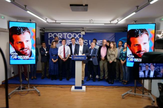 """Castellón: """"El PP es el único que puede dar estabilidad política y económica en España"""""""