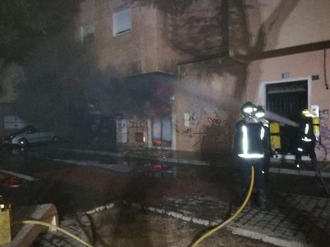 Nueva intervención del Servicio de Extinción de Incendios, en este caso en la capital
