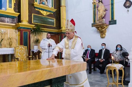 Diputación y Obispado restauran la Iglesia de Bentarique