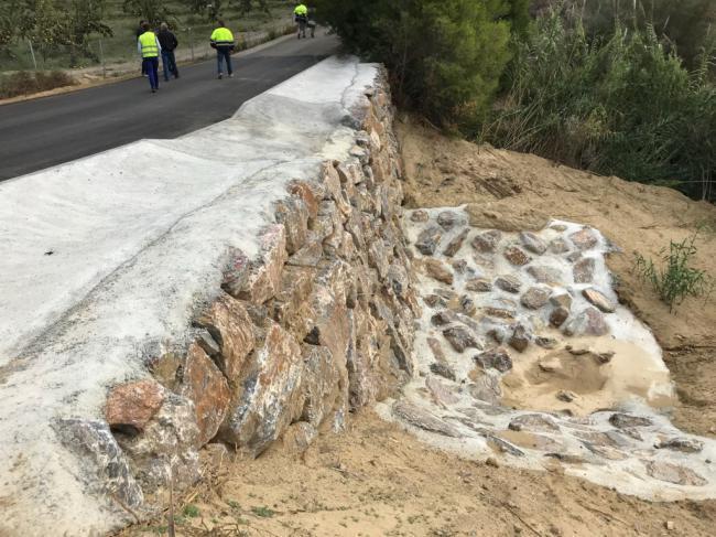 Diputación culmina las obras de estabilización del Cerro de Las Lomas en Zurgena