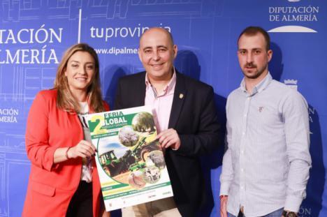 La II Feria Global Agrícola y Ganadera reunirá en Huércal-Overa a 80 empresas de la comarca