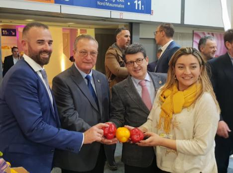 El tejido empresarial almeriense de Fruit Logistica apuesta por 'Sabores Almería'
