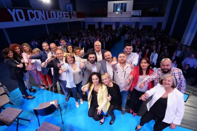 El PP de Gádor proclama candidata a la alcaldesa Lourdes Ramos