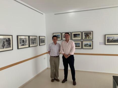 Exposición 'La Linterna Mágica' de Manuel Falces en Alcudia de Monteagud