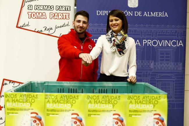 Cruz Roja y Diputación se alían para conseguir que ningún niño se quede sin juguetes