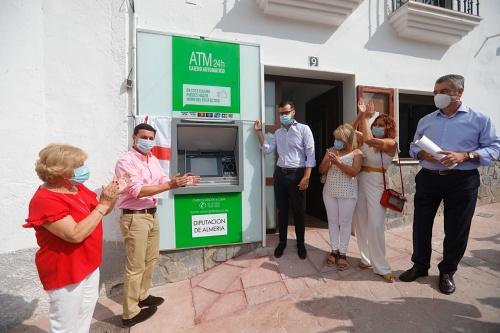 Diputación es pionera en instalación de cajeros automáticos multiservicios en pueblos pequeños