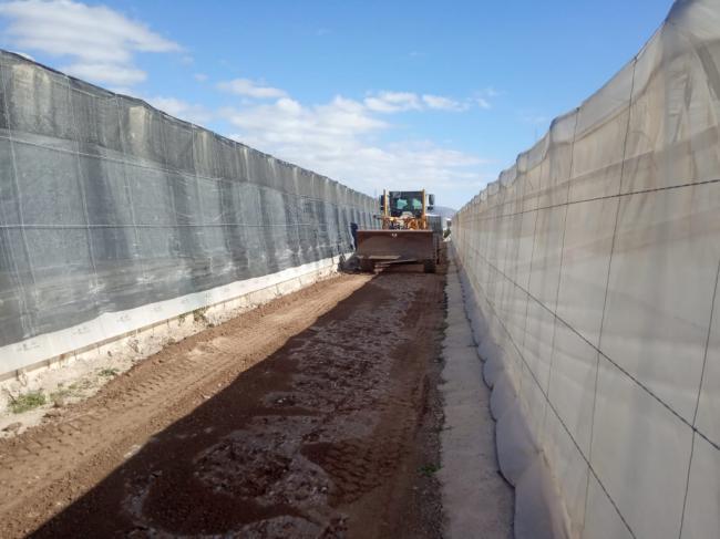 Diputación mejora de 11 caminos en Vícar y aprueba obras en Balanegra y Sorbas