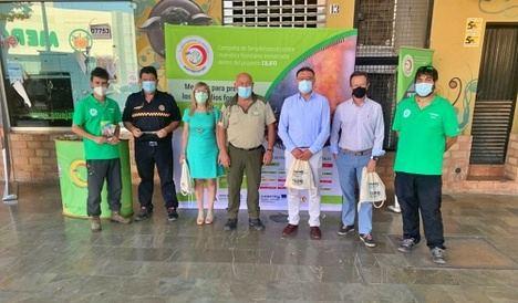 La campaña de prevención de incendios de la Junta llega a Berja