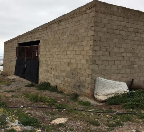 Demolición de dos chabolas en El Ejido por salubridad y seguridad