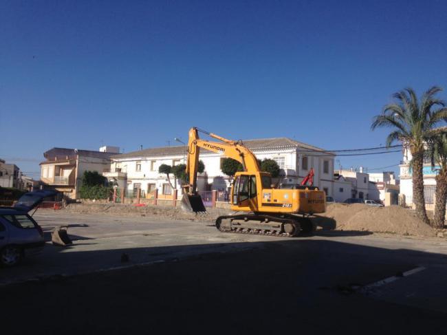 Arrancan la modernización de la Avenida de la Estación de Huércal-Overa