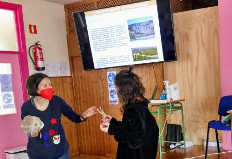 Diputación inicia en Adra los talleres para escolares sobre la biodiversidad