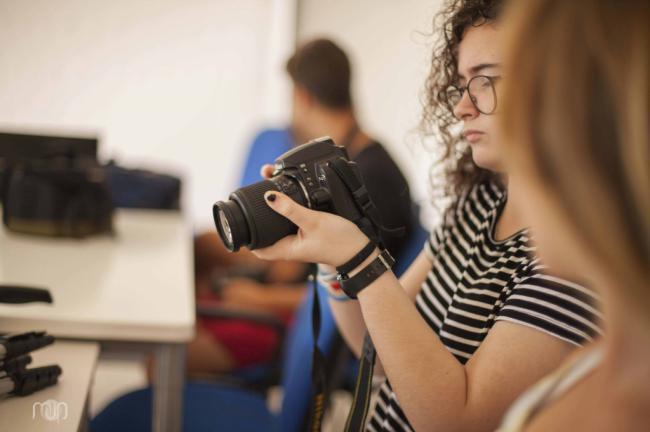 Talleres de fotografía del Área de Juventud de Roquetas