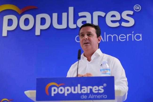 Javier A. García reclama que Almería esté en la Comisión Central de Explotación del Acueducto Tajo-Segura