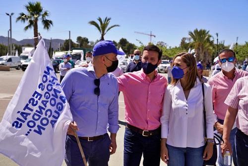 El PP apoya las manifestaciones de los regantes en defensa del trasvase Tajo-Segura