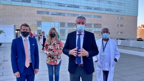 70 niños almerienses han sido operados gracias al endoscopio de la Junta