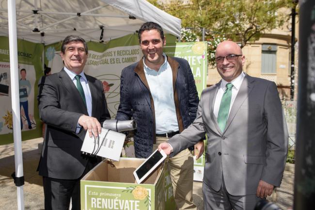 El Ayuntamiento se suma a la #Greenweek para el reciclaje de aparatos eléctricos
