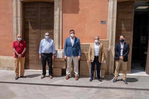 Los empresarios de juego almerienses y el Grupo Veramatic donan material contra #COVID19