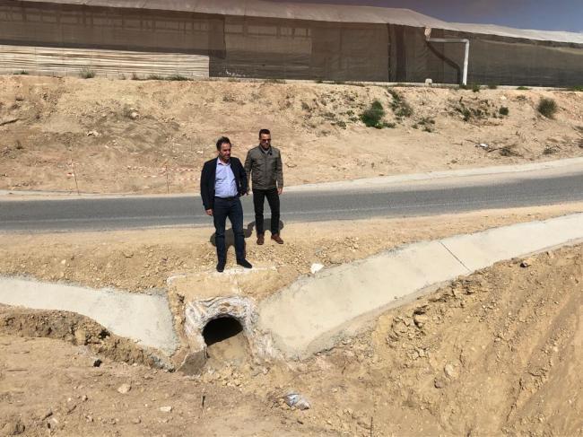 Finalizan las obras en el camino rural 'Cortijos de Abajo'
