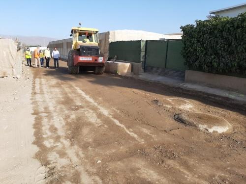 El Ayuntamiento de Almería invierte 100.000 euros en la mejora de caminos rurales en Bellavista