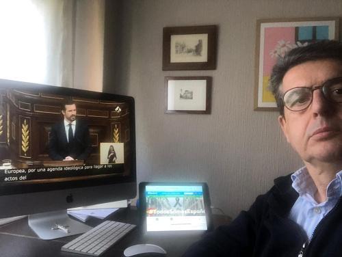 Matarí destaca la talla de Casado en el debate del Estado de Alarma