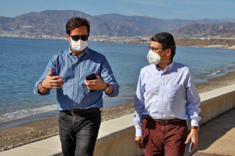 El PP exige al Gobierno la protección integral de la playa de Balerma y Guardias Viejas