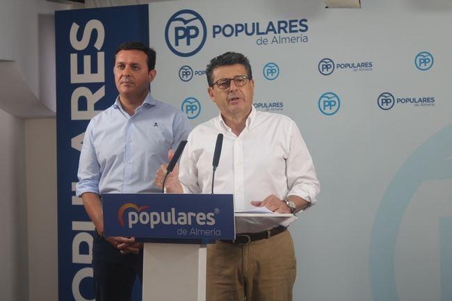 """Matarí: """"El Gobierno de Sánchez sólo ha traído a la provincia de Almería retrasos en las inversiones"""""""