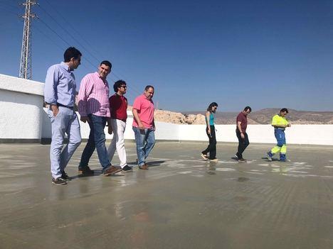 El Ayuntamiento invierte 256.000 euros en la mejora de los depósitos de agua de San Cristóbal