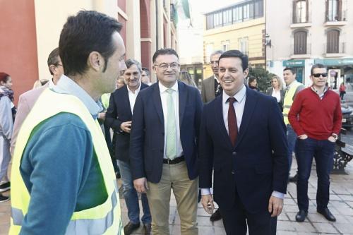 Diputación revitaliza el casco urbano de Berja con una nueva red de pluviales