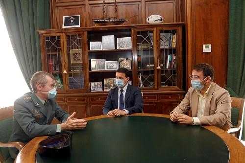 Diputación invierte 200.000 euros en la mejora de los cuarteles de la Guardia Civil