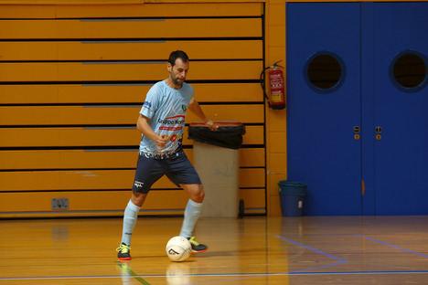 El fútbol sala celeste juega sus primeros amistosos en El Ejido