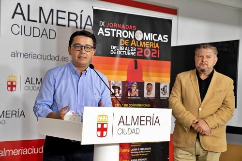 Almería volverá a ser centro de la astrofísica con las IX Jornadas Astronómicas