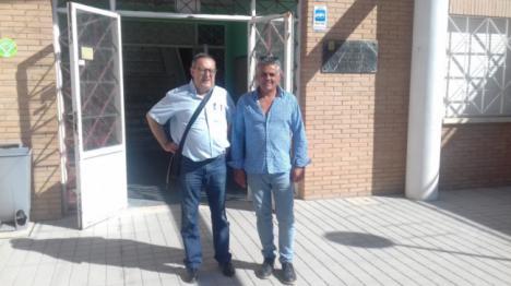 Visita del director del SEPE al municipio de Alicún