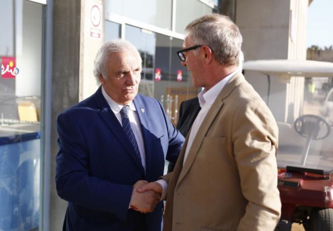 Ahora que es candidato al Congreso el ministro Guirao va a ver a la UD Almería