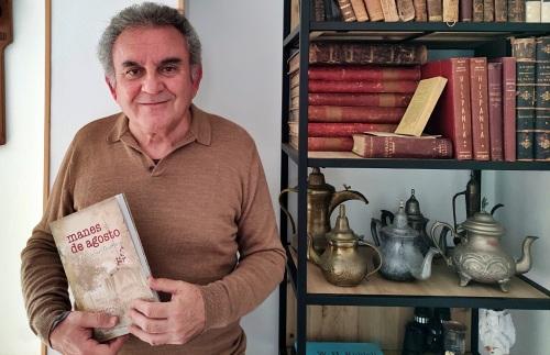 El IEA presenta la novela histórica de José Luis Guil Guerrero 'Manes de agosto'