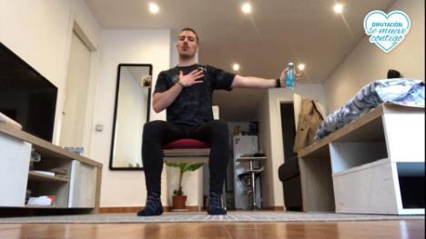 'Diputación se mueve contigo' para hacer actividad física en casa por #COVID19