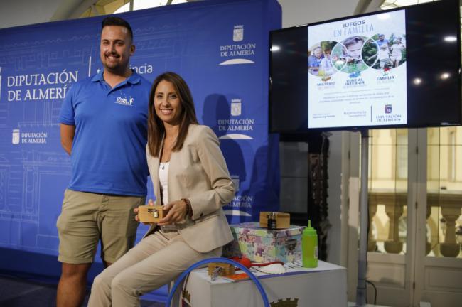 Diputación presenta tres nuevas actividades de 'Juegos en familia'