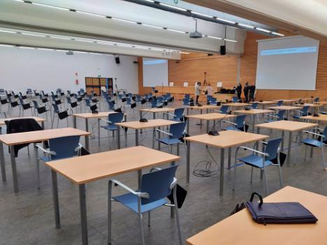 Adecuar el Palacio de Congresos de Roquetas para el jucio de la Operación Poniente ha costado 44.000 euros