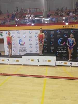 La pulpileña Julia García se proclama campeona de Andalucía de Gimnasia Rítmica júnior