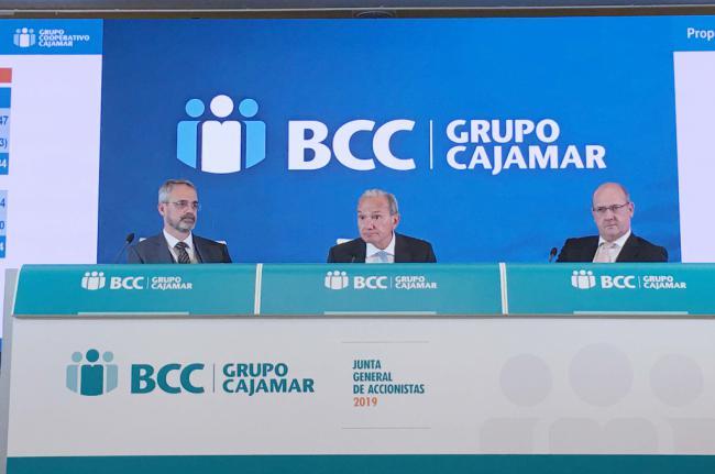 Grupo Cooperativo Cajamar gana hasta marzo 24,6 millones de euros