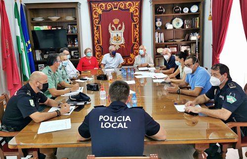 Junta Local de Seguridad en Vera por las fiestas patronales