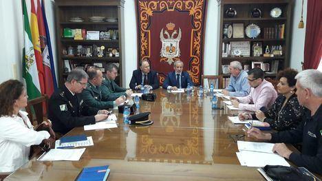 Junta Local de Seguridad en Vera para coordinar las fiestas patronales