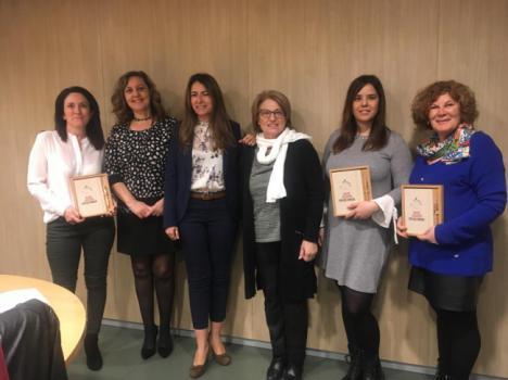 Los colegios 'Mar Mediterráneo', 'Virgen de la Paz', dy 'Río Aguas' ganan la fase provincial del concurso de la ONCE