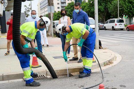 Más de un millón de litros de residuos extraídos tras la limpieza de imbornales
