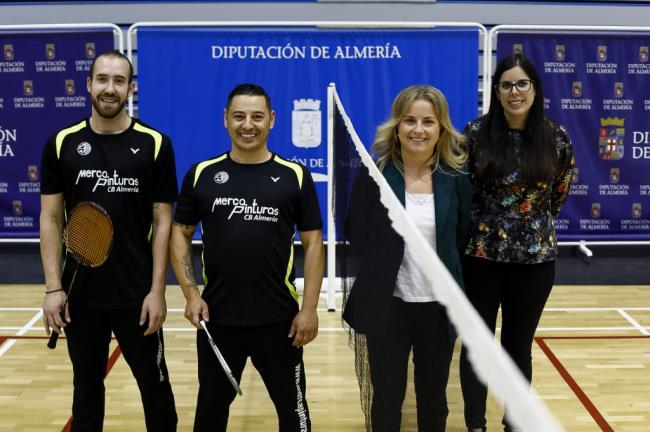 Laujar acoge la 'II Copa Diputación' de Badminton
